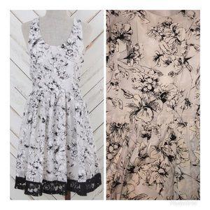 Altar'd state snowflake dress - Medium